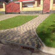 варианты укладки тротуарной плитки старый город