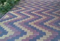 Вариант укладки тротуарной плитки Брусчатка