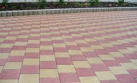 варианты укладки тротуарной плитки  30х30