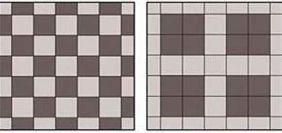варианты укладки тротуарной плитки квадрат